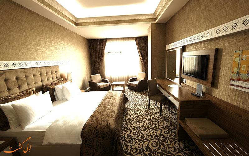 انواع اتاق های هتل دیوان اکسپرس باکو