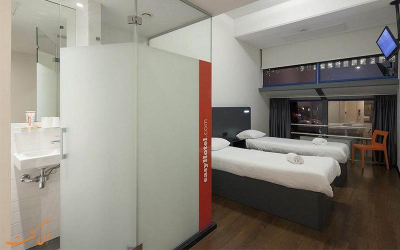 انواع اتاق های هتل ایزی سیتی سنتر روتردام