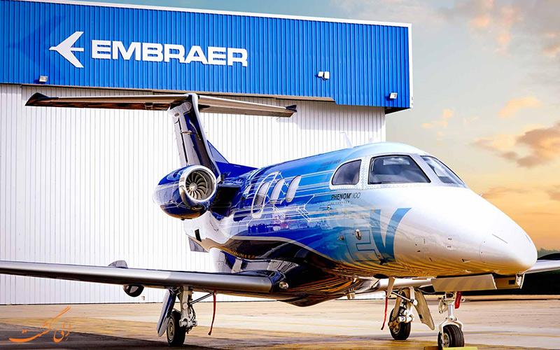 آشنایی با شرکت هواپیماسازی امبرائر