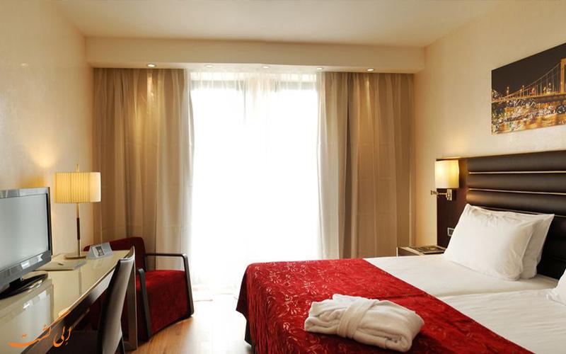 انواع اتاق های هتل یورواستارز سنتر بوداپست