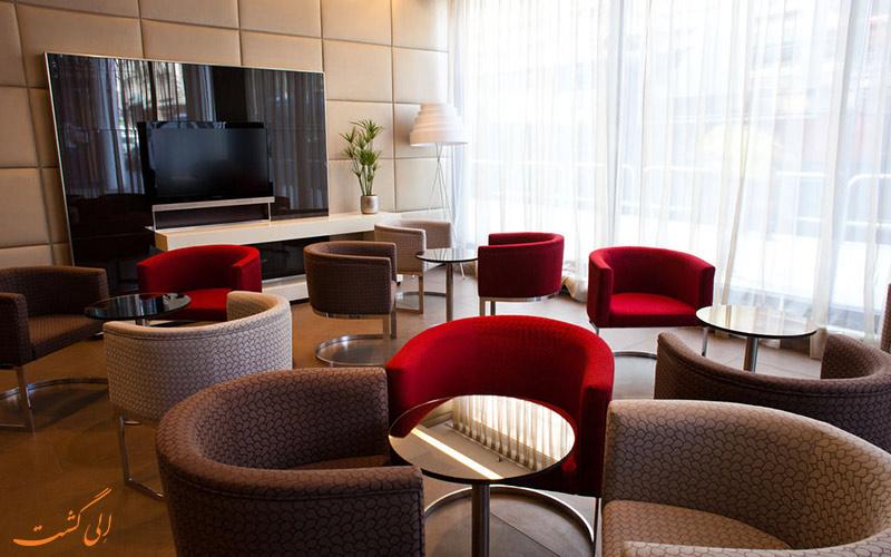 خدمات رفاهی هتل یورواستارز سنتر بوداپست- لابی