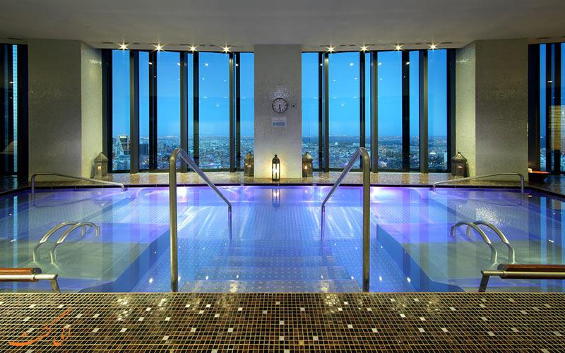 امکانات تفریحی هتل یورواستارز تاور مادرید- جکوزی