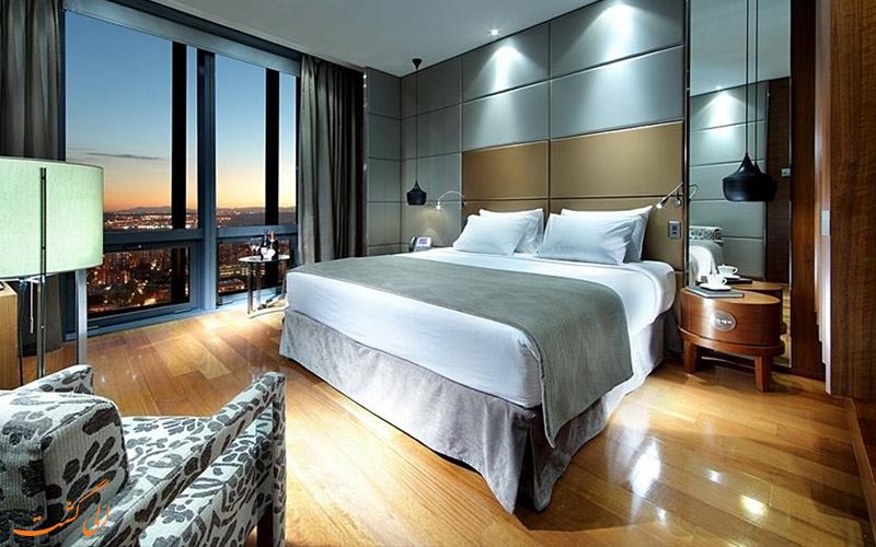 انواع اتاق های هتل یورواستارز تاور مادرید