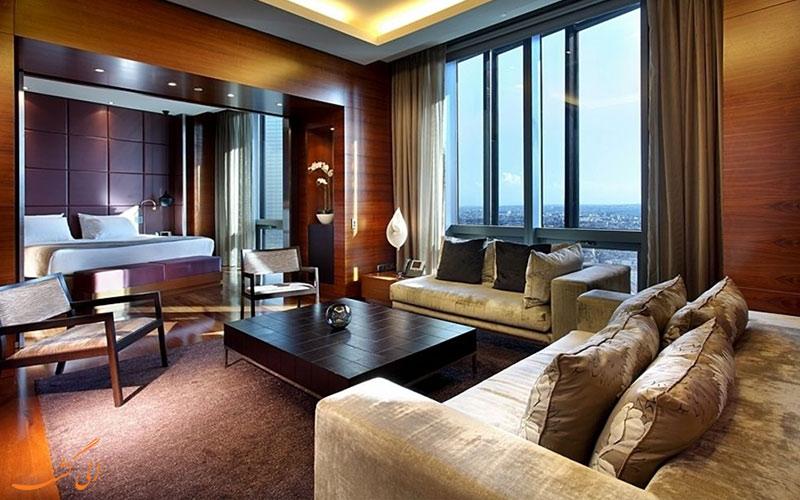 امکانات اتاق های هتل یورواستارز تاور مادرید