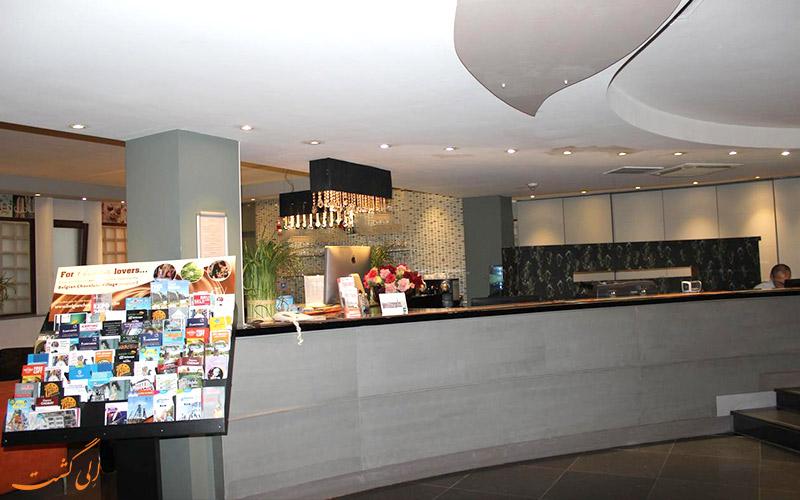 خدمات رفاهی هتل فلوریس آرلکوین بروکسل- میز پذیرش