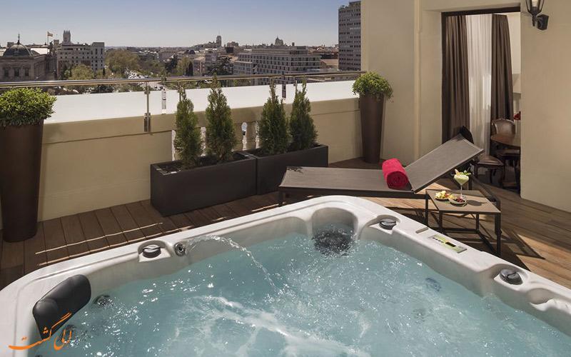انواع اتاق های هتل گرند ملیا فنیکس مادرید