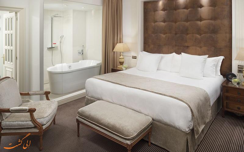 امکانات اتاق های هتل گرند ملیا فنیکس مادرید