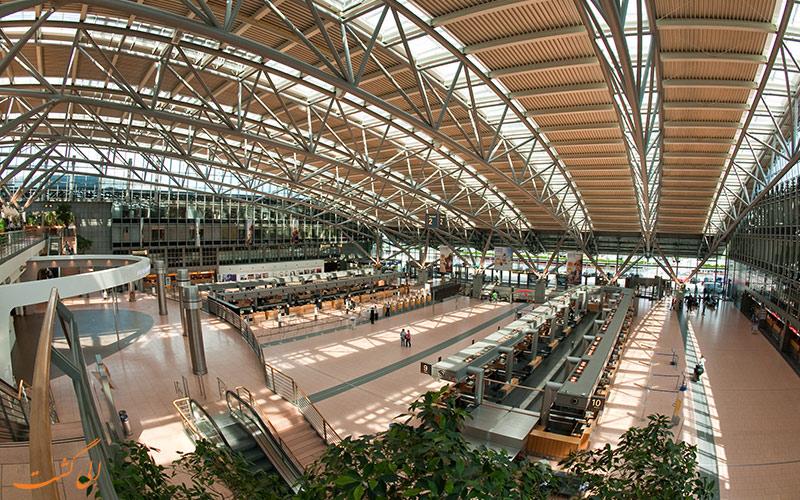 راه های دسترسی به فرودگاه بین المللی هامبورگ