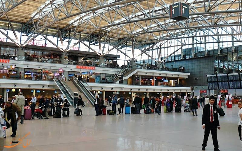 تاریخچه ی فرودگاه بین المللی هامبورگ