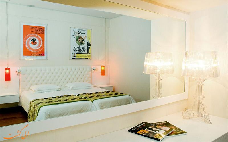 انواع اتاق های هتل فلوریدا لیسبون