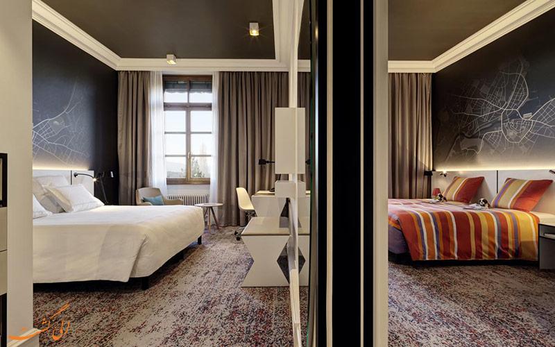 انواع اتاق های هتل متروپول ژنو