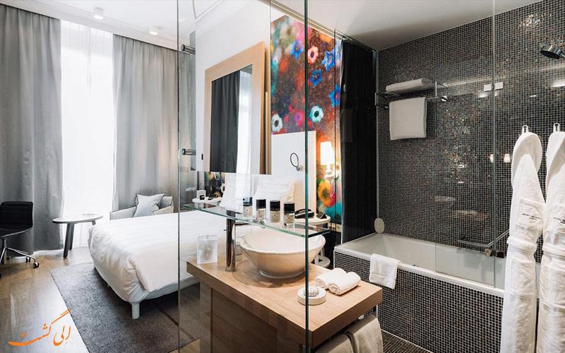 امکانات اتاق های هتل متروپول ژنو