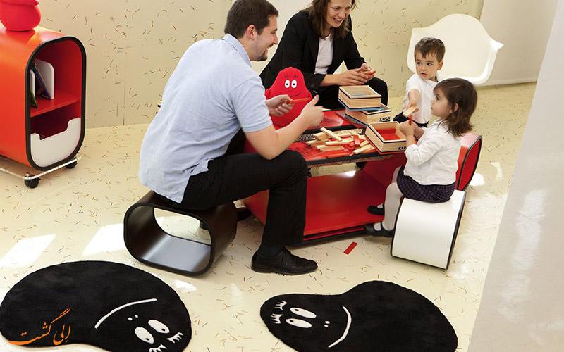 هتل نووتل شارنتون پاریس- خدمات نگهداری از کودکان