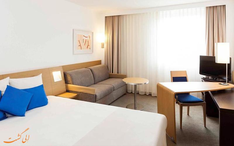 انواع اتاق های هتل نووتل شارنتون پاریس