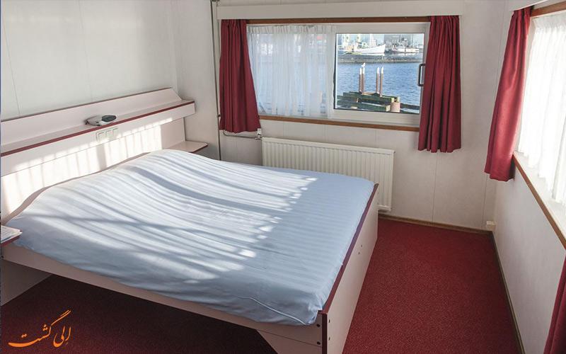 امکانات اتاق های هتل آمستل بوتل آمستردام