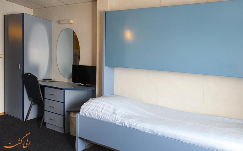 انواع اتاق های هتل آمستل بوتل آمستردام