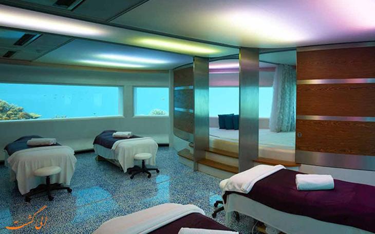 هتل زیردریایی هوافن فوشی در مالدیو