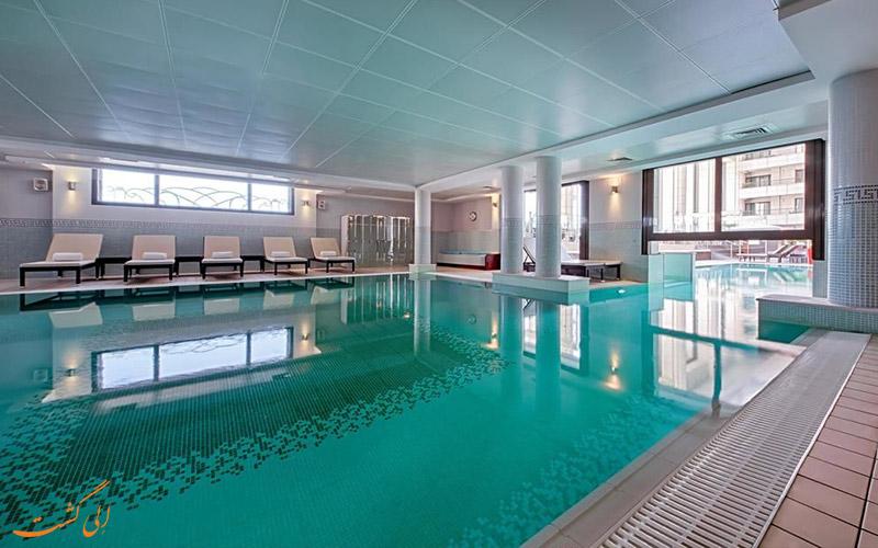 Hyatt Regency Nice Palais de la Mediterranee- استخر سرپوشیده