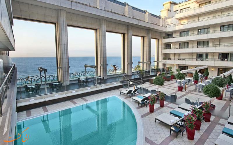 Hyatt Regency Nice Palais de la Mediterranee- تراس هتل