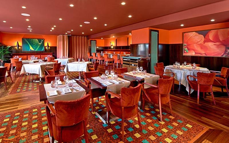 Hyatt Regency Nice Palais de la Mediterranee- رستوران هتل