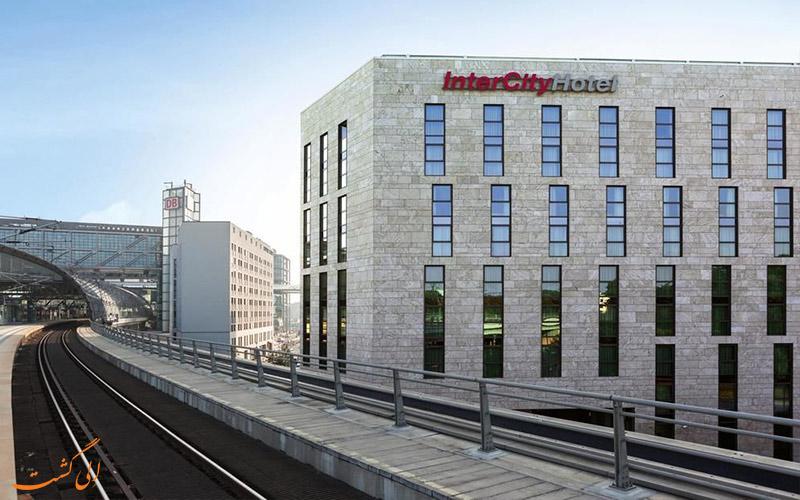 هتل اینترسیتی برلین- نمای هتل