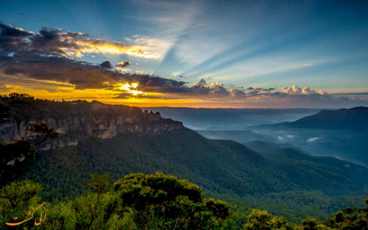 - درهی جمیسون در استرالیا