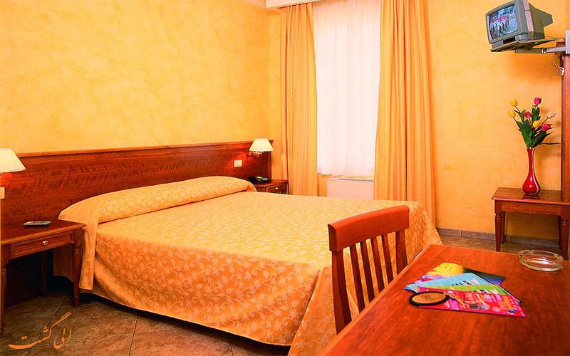 انواع اتاق های هتل کریس رم