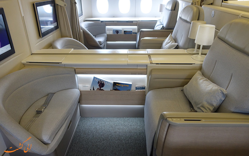 آشنایی با پرواز فرست کلاس شرکت هواپیمایی ایر فرانس