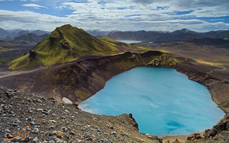دره ی لند منالوگا در ایسلند