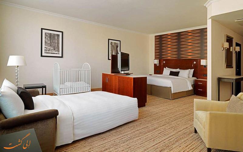 انواع اتاق های هتل ماریوت کلن
