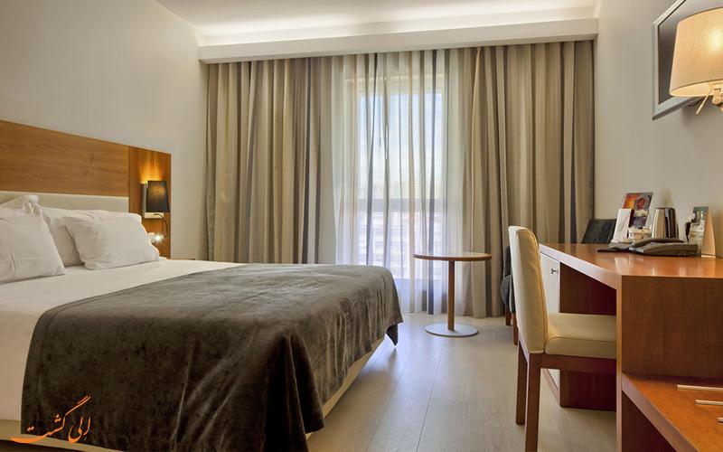 امکانات اتاق های هتل مرکیور لیسبون