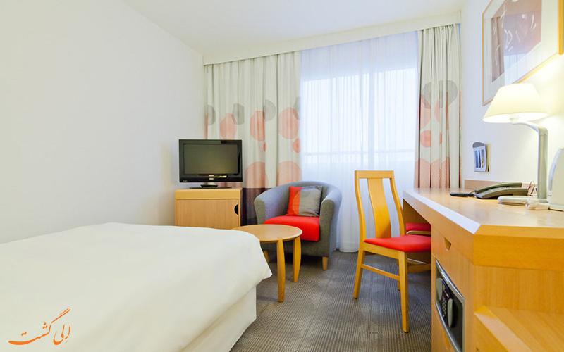 امکانات اتاق های هتل نووتل سنترام ورشو