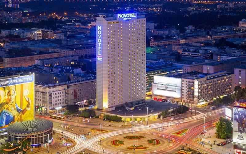 Novotel Warszawa Centrum- eligasht.com نمای هتل