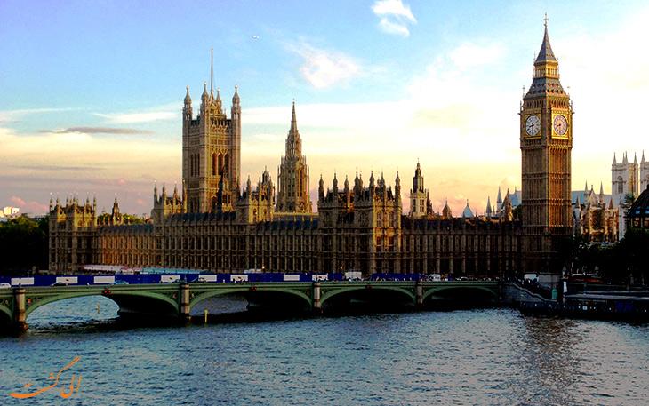 کاخ وست مینستر در لندن