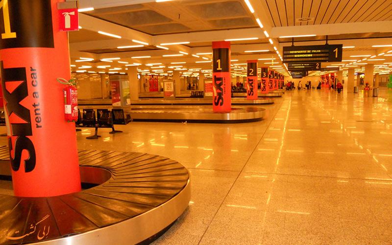 تاریخچه ی فرودگاه بین المللی پالما د مایورکا