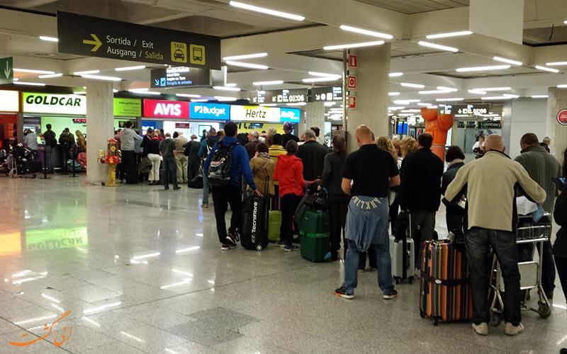 اطلاعات فرودگاه بین المللی پالما د مایورکا