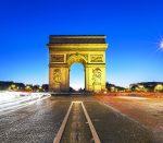 خلوت ترین روزهای پاریس را در این ویدیو تماشا کنید