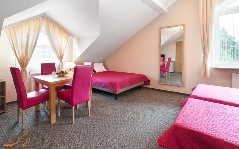 انواع اتاق های هتل پتروس کراکوف