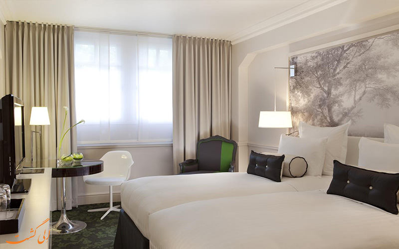 امکانات اتاق های هتل رنسانس لو پارک تروکادرو پاریس