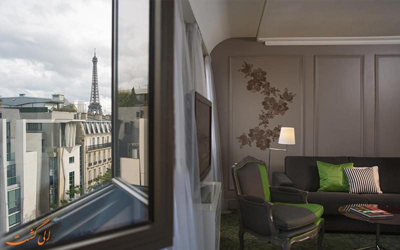 انواع اتاق های هتل رنسانس لو پارک تروکادرو پاریس