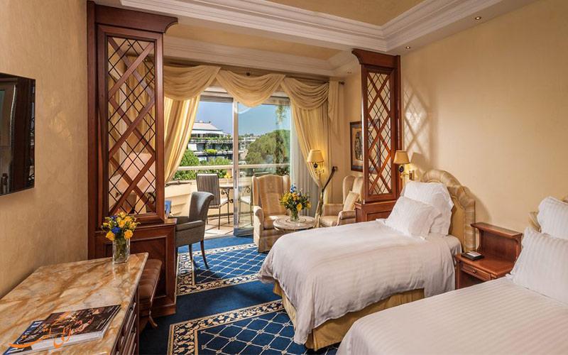 انواع اتاق های هتل کاوالیری رم