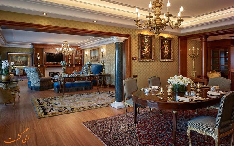 اتاق های هتل کاوالیری رم