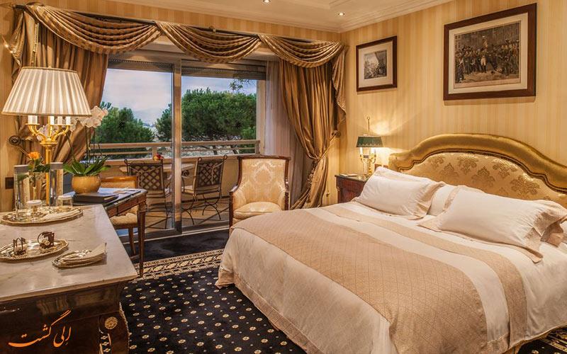 امکانات اتاق های هتل کاوالیری رم