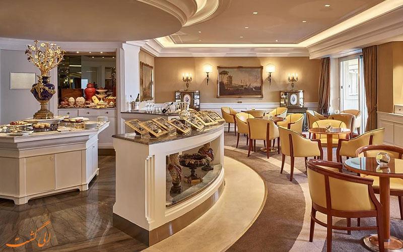 Rome Cavalieri Waldorf Astoria- eligasht.com رستوران