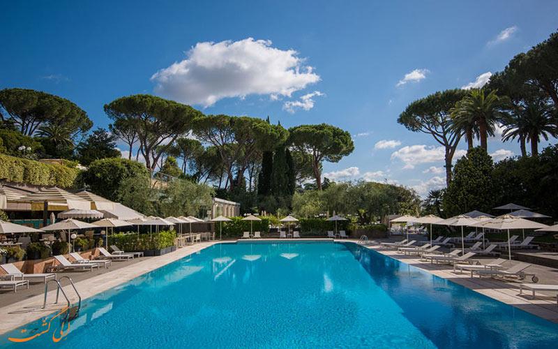 Rome Cavalieri Waldorf Astoria- eligasht.com استخر روباز