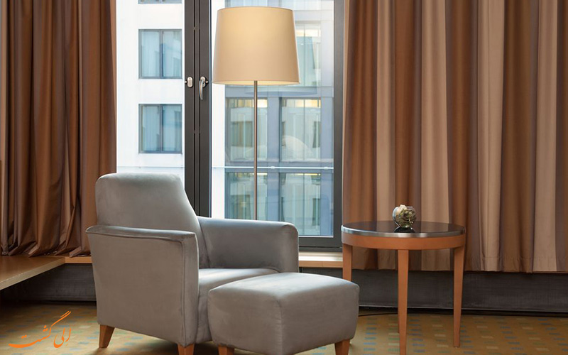 خدمات رفاهی هتل سوئیسوتل برلین- فضای نشیمن
