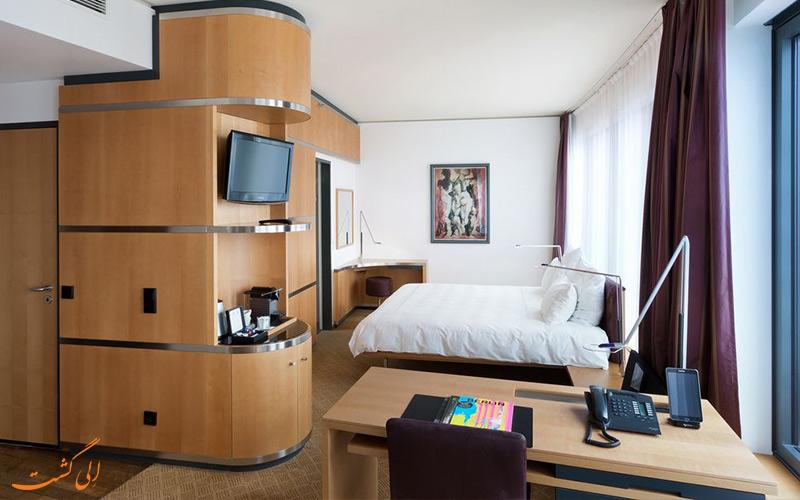 امکانات اتاق های هتل سوئیسوتل برلین