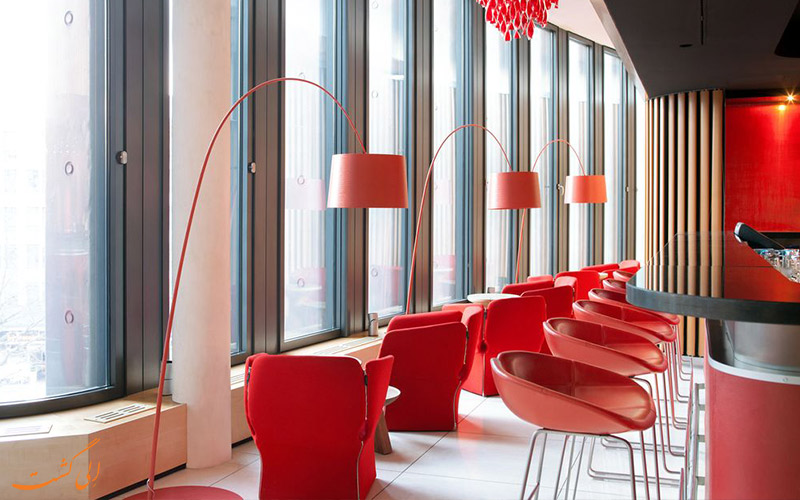 هتل سوئیسوتل برلین- کافه هتل