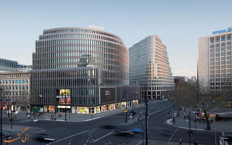Swissotel Berlin- eligasht.com نمای هتل