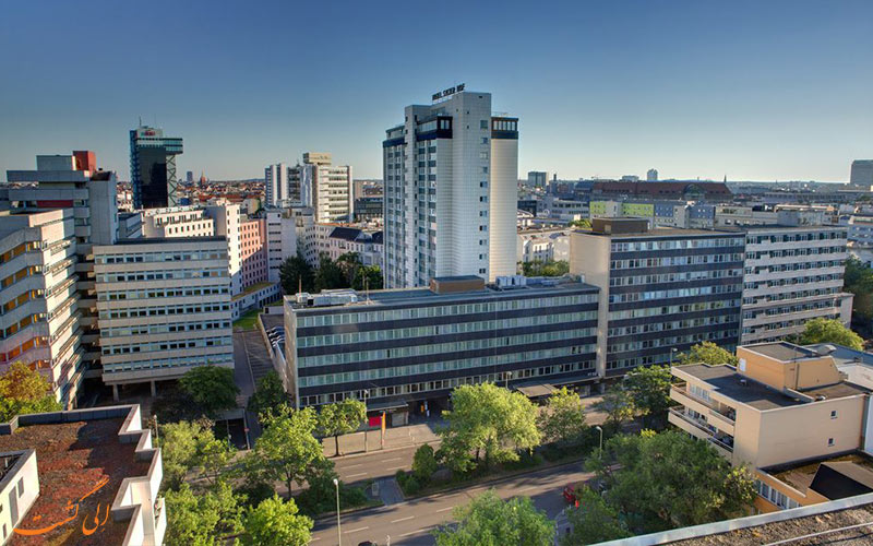هتل سیلتر هوف برلین- نمای پنجره